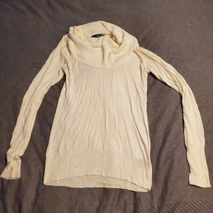 Mossimo off white cowl sweater